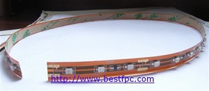 led flex circuit solder together