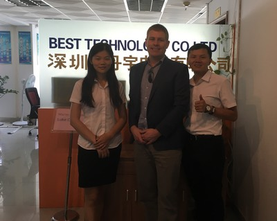 Luke Visiting Best Technology on Aug 25 2016